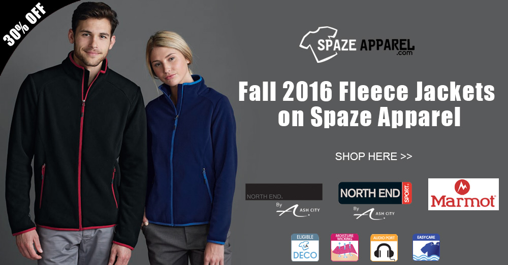 Shop Fall 2016 Fleece Jackets on Spaze Apparel