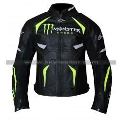 Alpinestars Monster Energy Scream Perforated Leather Jacket