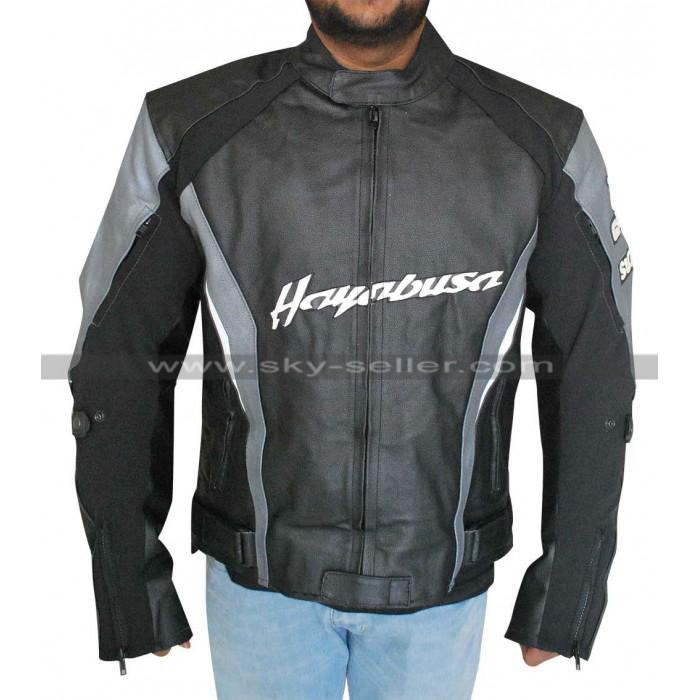 Joe Rocket Suzuki Hayabusa Motorcycle Leather Jacket