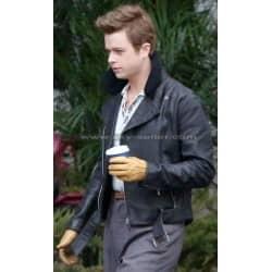 James Dean Life Dane Dehaan Fur Collar Jacket