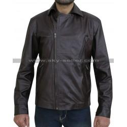 Matt Long Ghost Rider Young Johnny Blaze Biker Jacket