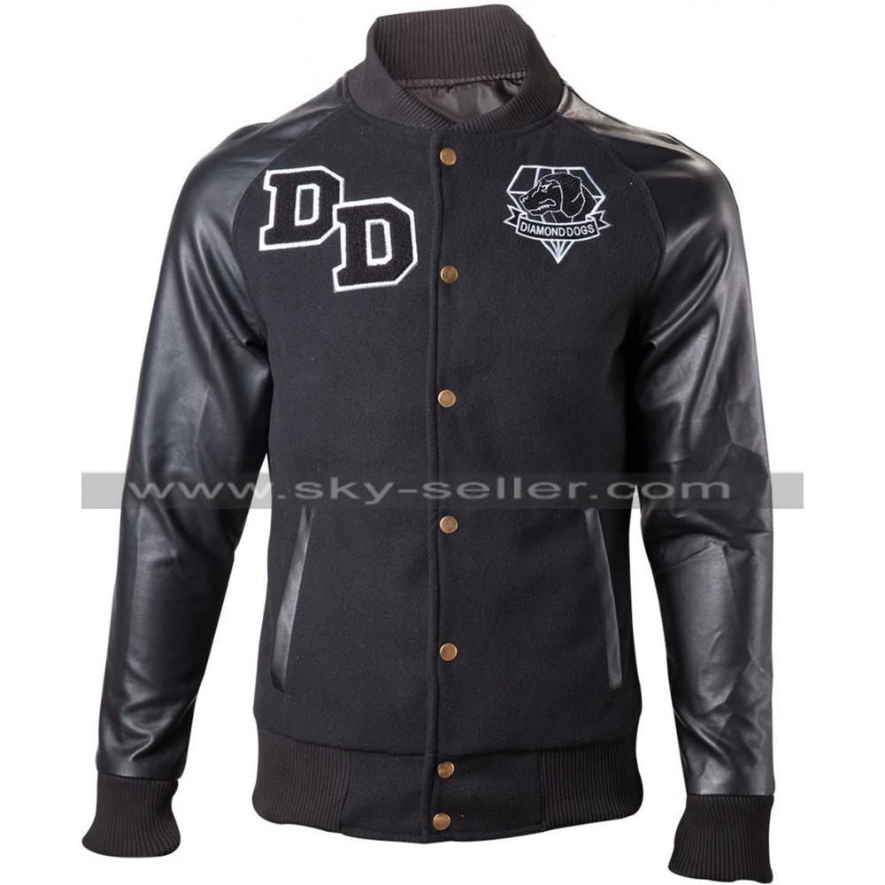Big Boss Diamond Dogs Varsity Letterman Jacket