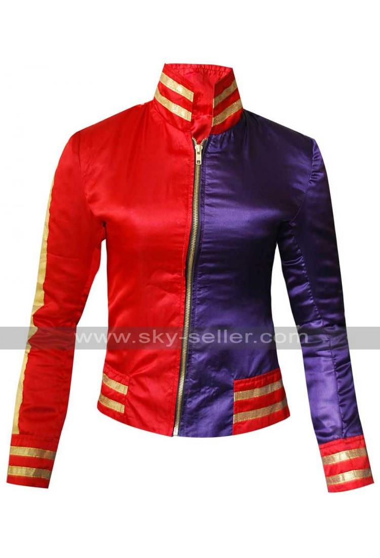 Harley Quinn Suicide Squad Margot Robbie Bomber Jacket