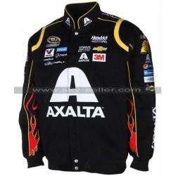 Jeff Gordon Axalta Black Racing Leather jacket
