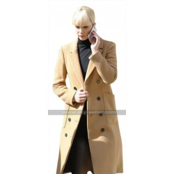 Jennifer Lawrence Red Sparrow Brown Coat