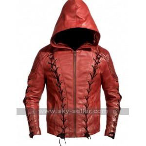 Colton Haynes Arrow Season 3 Roy Harper Jacket Costume