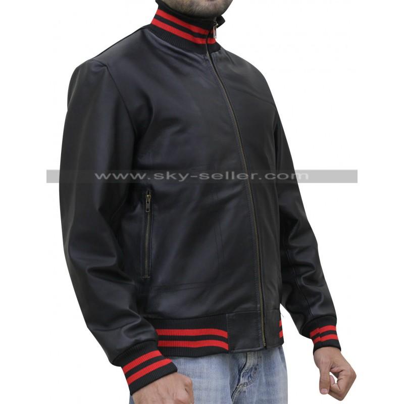Song Not Afraid Black Bomber Jacket