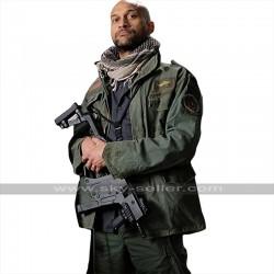 The Predator Keegan Michael Key (Coyle) Green Cotton Jacket