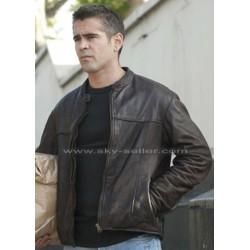 Colin Farrell London Boulevard Mitchel Distressed Brown Jacket