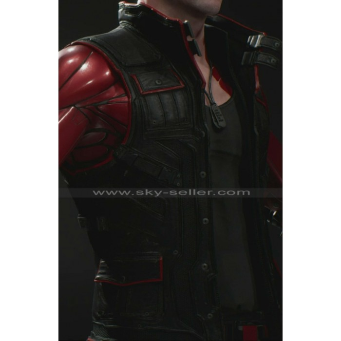 Paragon Shooter Twinblast Black Leather Vest