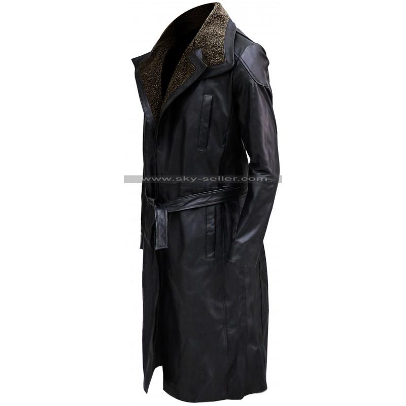 Runner 2049 Ryan Gosling Fur Leather Coat
