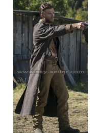 Scott Eastwood Diablo Jackson Leather Trench Coat