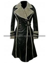 XXX Yelena (Asia Argento) Black Fur Coat