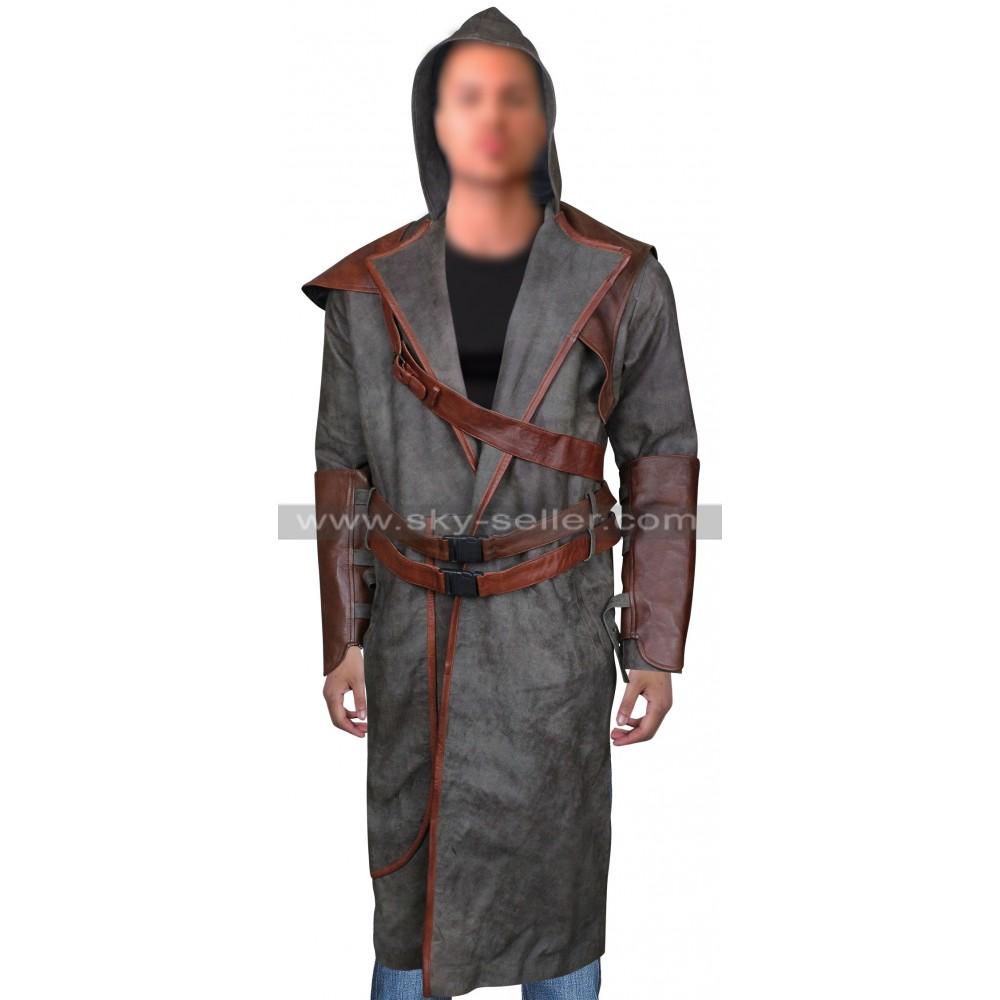 Allanon Druid Shannara Chronicles Leather Costume Coat
