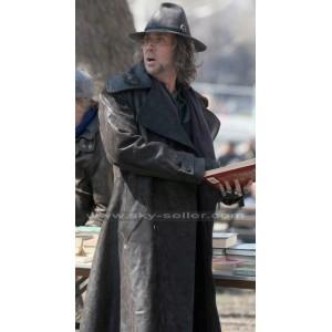 Balthazar Blake Sorcerer's Apprentice Leather Trench Coat
