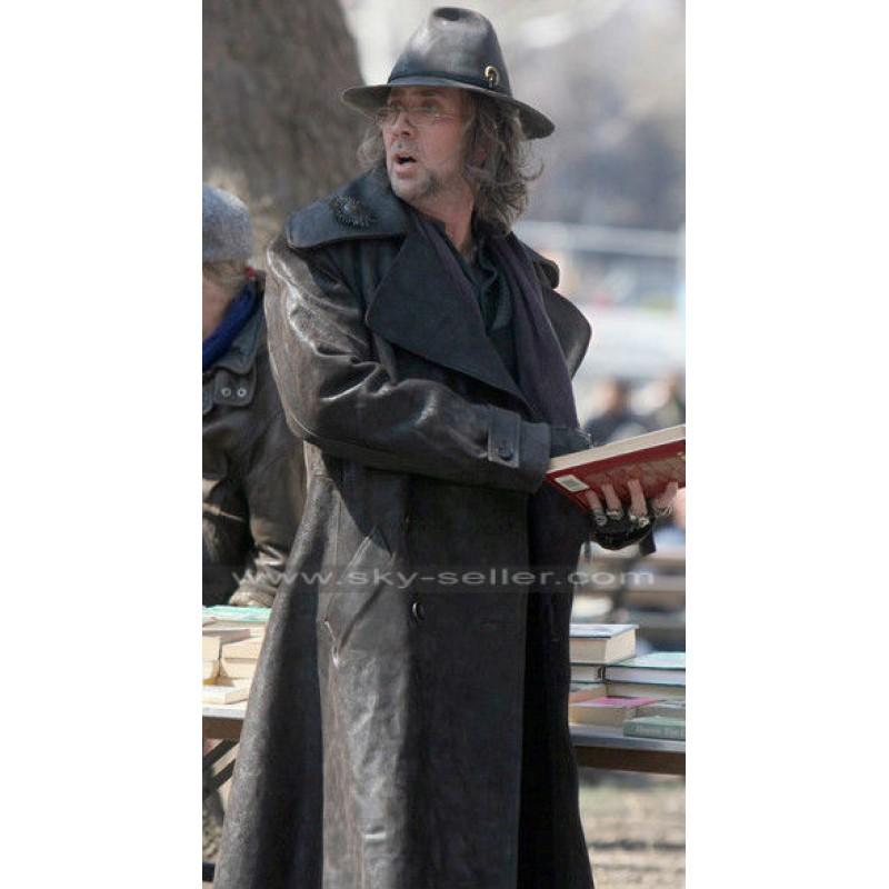 Blake Sorcerer's Apprentice Leather Trench Coat