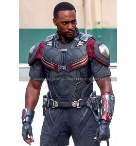 Civil War Anthony Mackie (Sam Wilson) Costume Jacket