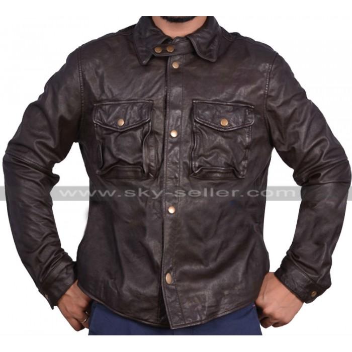 Addicted William Levy Moto Leather Jacket