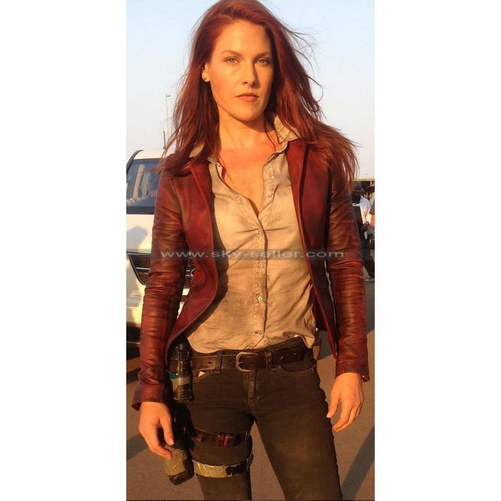 Ali Larter Resident Evil Final Claire Redfield Vest Jacket