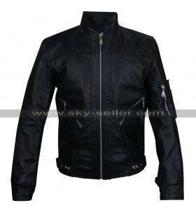 Believe Tour Justin Bieber Black Leather Jacket