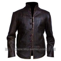 Demons Leonardo da Vinci Brown Distressed Jacket