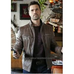 Grant Ward Agents of Shield Brett Dalton Brown Jacket