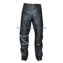 The Crow Eric Draven Black Leather Pants