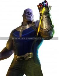 Avengers Infinity War Thanos (Josh Brolin) Costume Leather Vest
