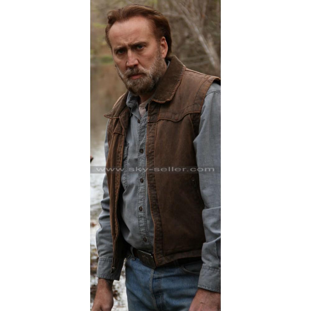 Joe (Nicolas Cage) Ransom Brown Leather Vest