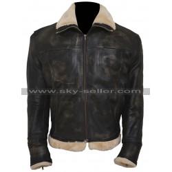 Vin Diesel xXx Xander Cage Distressed Black Fur Jacket