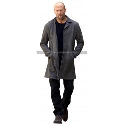 Fast and Furious 8 Jason Statham Black Leather Coat