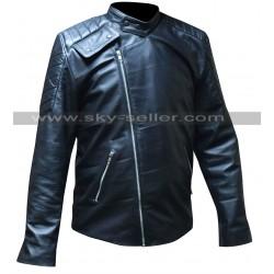 Pike Buffy the Vampire Slayer Black Leather Jacket