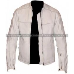 Star Wars Stormtrooper Biker Quilted Leather Jacket