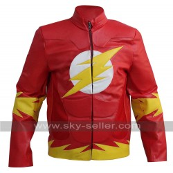 The Flash Bartholomew Henry Allen Red Leather Jacket