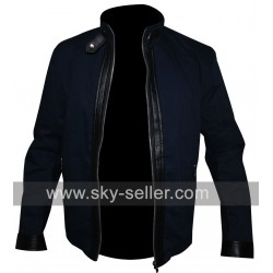 Dan Stevens The Guest David Collins Leather Jacket