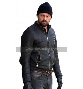 Bent Movie Karl Urban Danny Gallagher Black Leather Jacket
