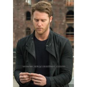 Brian Finch Limitless Jake Mcdorman Black Leather Jacket