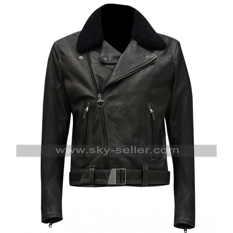 Dean Life Dane Dehaan Fur Collar Jacket