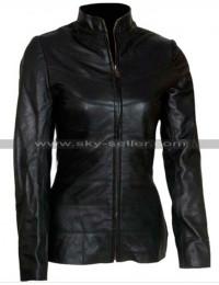 Susan Calvin I Robot Bridget Moynahan Black Jacket