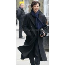 Sherlock Benedict Cumberbatch Holmes Detective Coat
