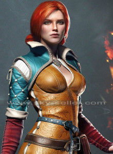 Triss_Merigold_Witcher_3_Wild_Hunt_Sorceress_Brown_Jacket