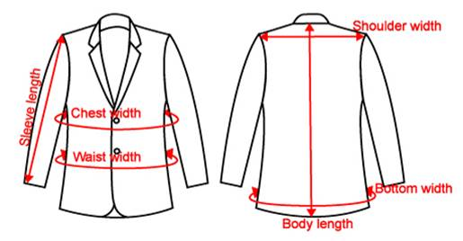 The actual chest measurement of a suit is typically 2 inches larger than the size of the suit to allow room for adequate movement. The European size of a suit is 10 more than the US Size. For example, a size 50 (European) is equivalent to a size 40 (US).