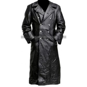 German_Classic_Officer_Black_Leather_Trench_Coat