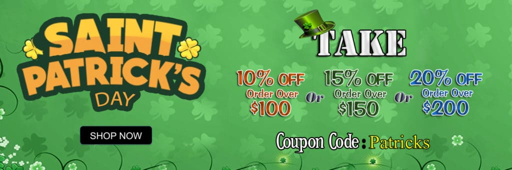 Saint Patrick's Day Sale