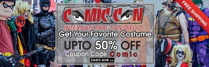 Comic Con 2018 Discount