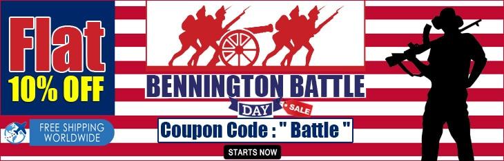 Bennington Battle Discount