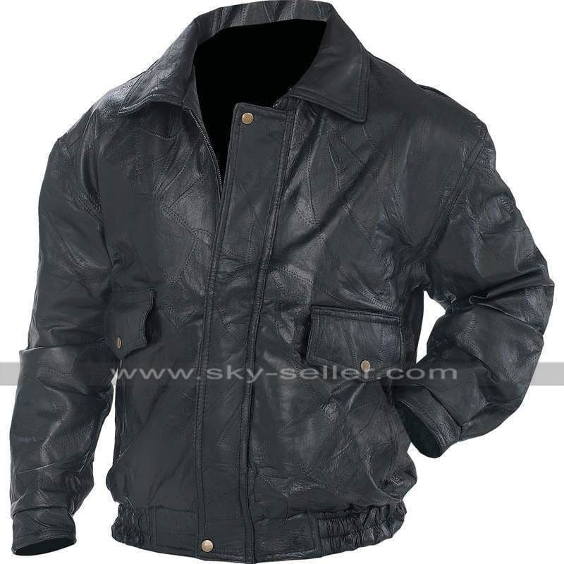 Black_Biker_Flight_Coat_Motorcycle_Leather_Jacket