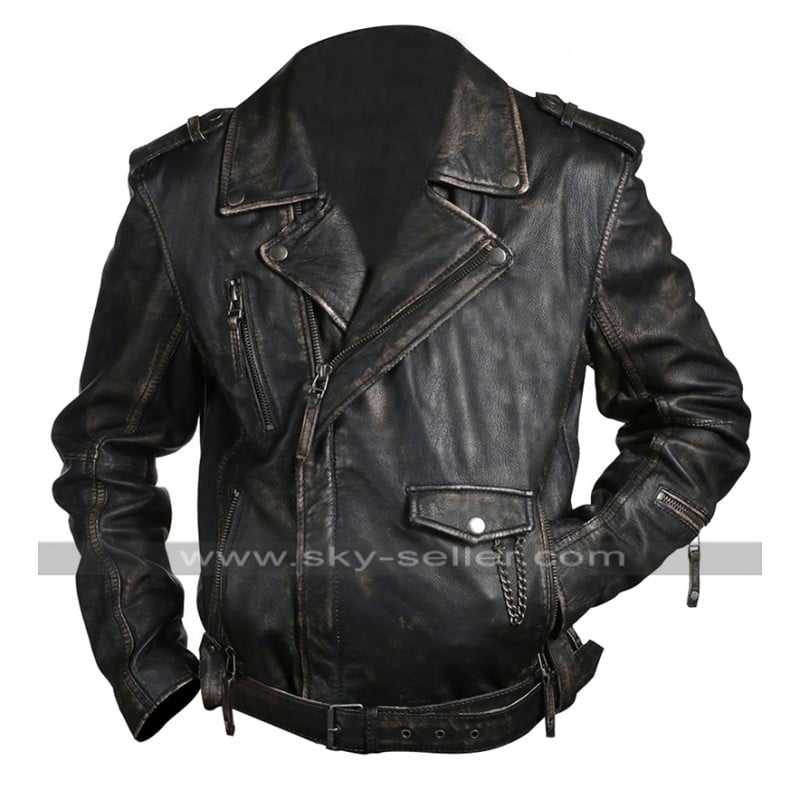 Vintage_Classic_Belted_Biker_Brown_Leather_Jacket