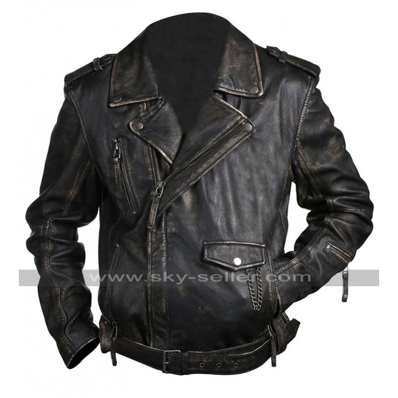 Vintage_Classic_Belted_Biker_Brown_Leather_Jacket