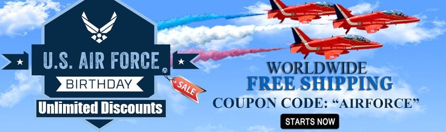 US Air Force Birthday Sale